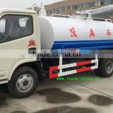 DongFeng small suction sewage truck