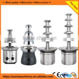 Portable stainless steel chocolate fountain machine chocolate machine on sale