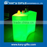 China made garden furniture hot sale led plastic cafe dining furniture