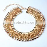 Fashion handmade necklace alloy jewelry necklace for laddy