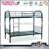 Easy assembly double decker heavy duty cheap adult metal bunk bed/ metal bed in malaysia
