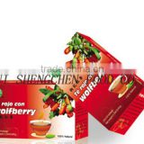 wolfberry black tea bag herbal tea