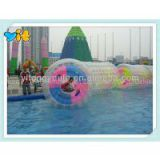 2.1*1.8*2m, 0.8mm TPU, inflatable water roller, aqua ball, 3 air chamber , Human Sized Hamster Ball