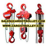 Hand chain hoist and Chain pulley block manual instruction