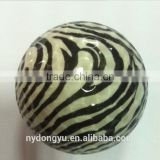High quality golf zebra ball / yurg creative golf zebra ball/various colors golfballs