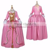 Rococo Baroque Ball Gown Dress 1700s Marie Antoinette Outfit Pink Fancy Medieval Victorian Dress