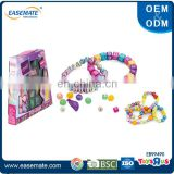 Kids DIY Craft Kits - ABC Beads, Pearls & Charms, Friendship Bracelets