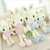 HI CE best selling light up musical plush toys battery-operated plush bunny rabbit toy for sale