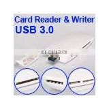 High Quality USB 3.0 Card Reader/Writer (White)