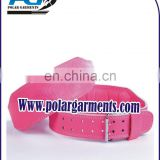 Hot pink weight lifting belt For Women