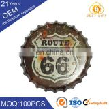 Silver Color Aluminum Metal Cap for Beer Glass Bottle