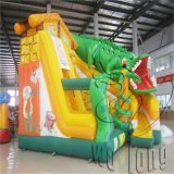 PVC Tarpaulin commercial inflatable adult bounce house castle bouncer slide for sale