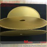 Vacuum brazing diamond saw blade processing various natural stones   Alisa@moresuperhard.com