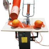 Fruit mesh bag use pneumatic semi-auto double clipper