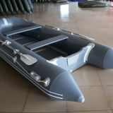 V type & Aluminum floor, inflatable boat, rubber boat, outdoor sports, yacht, Boat-380cm