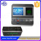 RFID card reader and Biometic Fingerprint Time attendance and access control with TCP/IP RS485 USB port