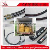 Fuel Abrasion and Weather Resistant Synthetic Rubber Hydraulic Hose for Cabin Pump