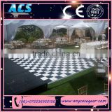ACS parquet dance floor, plywood material dance floor with aluminum edge for sale