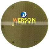 senke Stainless steel woven mesh filter disc in round ,square ,rectangular, kidney, oval shape