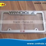 All kinds of plastic parts of the license plate processing license plate box license plate frame