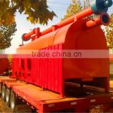 Zero emission rice hull charcoal making machine artificial charcoal making device with CE ISO