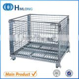 Logistic welding steel storage mesh container box