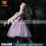 2016 Summer Children Clothes Brand True Silk Dress Princess Girl Dress Kids Stapling Dress