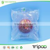 Tripod Strong protective clear plastic air bladder for wine packaging