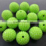 Various size Resin Rhinestone Ball beads Chunky for Jewerly Chunky Kids Necklace Jewelry