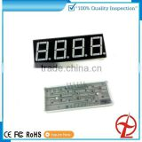 4 digit 7 segment display 0.56 inch green color for counter