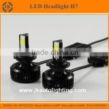 Three Sided 360 Degree Emitting LED H7 Headlight New Arrival High Power COB LED Car Headlight Bulb H7