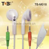 Consumer electronic computer accessory in bulk free sample cheap earphones with microphone for laptop computer