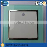 Electric tint light switch on off plates tempered glass