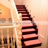 Fantastic non slip stair rectangle chenille shaggy rugs for wooden stairs and wooden floor