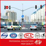 Double Arm or Dual Arm Traffic Signal Light Pole for Sale