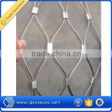 Alibaba China SUS 304 stainless steel wire mesh/ braided mesh/rope mesh net
