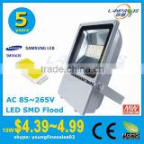 meanwell driver best price 5 years warranty 9000 lumens IP66 high power led flood wall wash light