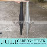 customized 3k carbon fiber spear tube, good price carbon fiber oval&round spear tube for shooting fish