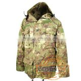 Military Coat with T/C or nylon/cotton material with waterproof function our fabric has passed SGS test