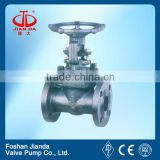 raised face flange end WCB DN150 gate valve
