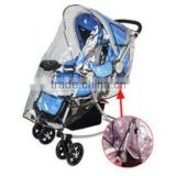 cheap baby stroller rain covers with transparent window