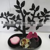 Detachable plastic tree jewelry display stands