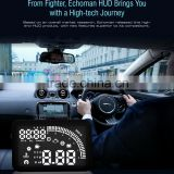 hot sales from manufacturer 5.5'' Universal Automotive HUD Head Up Display Speedometer Display on Windshield