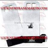 Strong non slip Leather white custom made hand grip , power lifting gym product,Lifting accessories
