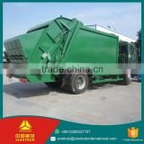 200L Sewage tanker howo 290HP compactor waste truck / 4*2 garbage truck