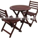 Meranti Outdoor / Garden Furniture Set - Balcony Set