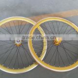 wheelset for fixed gear bike fixie bike alloy wheel set china wheelset factory                                                                         Quality Choice