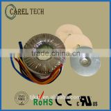 CE ROHS approoved ring transformer, coil structure power transformer, mini toroidal transformer