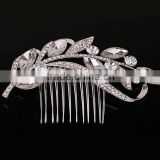 Fashion crystal rhinestone bridal hair combs crown women hair accessories                                                                         Quality Choice