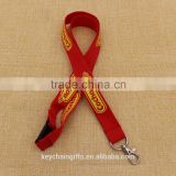 Red card holder lanyard/ polyester lanyard with custom printed logo promotion                                                                                                         Supplier's Choice